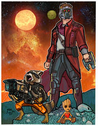 Guardians of the galaxy by VegasDay