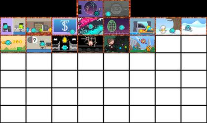 52 Week Emote Calendar 2018 by Phlum