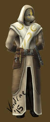 Wulox the Jedi Temple Guardian by adamantVis