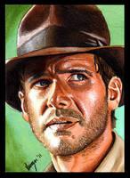 Indiana Jones by SSwanger