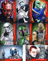 501st Sketch Cards by SSwanger