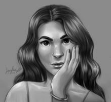 Wavy Hair - Study by Squydney