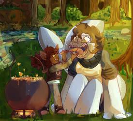 commish:: taste test!!! by purikins