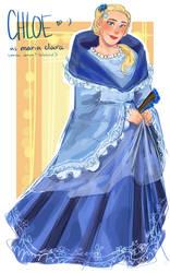 clarita? maria chloe (+info about the au) by purikins