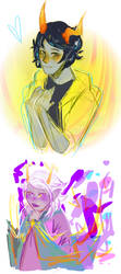 you know how you never stop being a homestuck?? by purikins