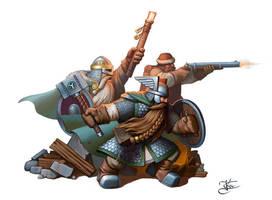 Three dwarfs by Goramitrio