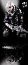 cyborg of Reflection by asteampunk