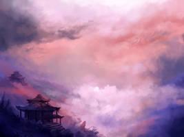 Sea of Cloud by OakKs