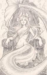 Mermaid queen by IreneRoga