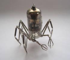Vacuum Arachnid No 2 by AMechanicalMind