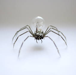Mechanical Spider No 26 (III) by AMechanicalMind