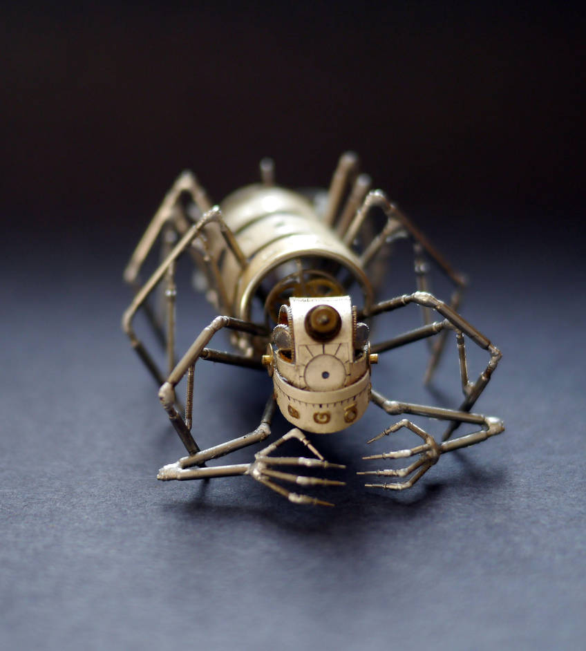 Mechanical Arthropod Creeper by AMechanicalMind