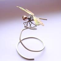 Clockwork Dragonfly No 8 by AMechanicalMind
