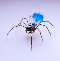 Clockwork Spider No 47 by AMechanicalMind