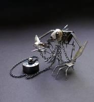 Mechanical Clockwork Creature (Captive) by AMechanicalMind