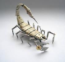 Watch Parts Scorpion No 9 by AMechanicalMind