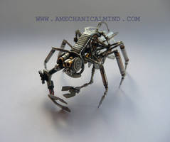 Watch Parts Creature by AMechanicalMind