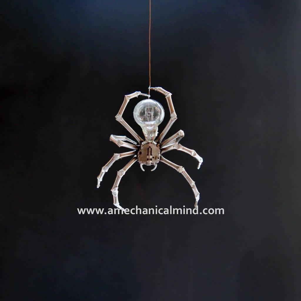 Hanging Spider No 1 by AMechanicalMind