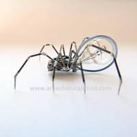 Watch Parts Spider No 74 by AMechanicalMind