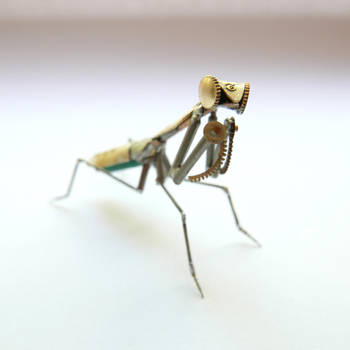 Watch Parts Praying Mantis No 45 by AMechanicalMind