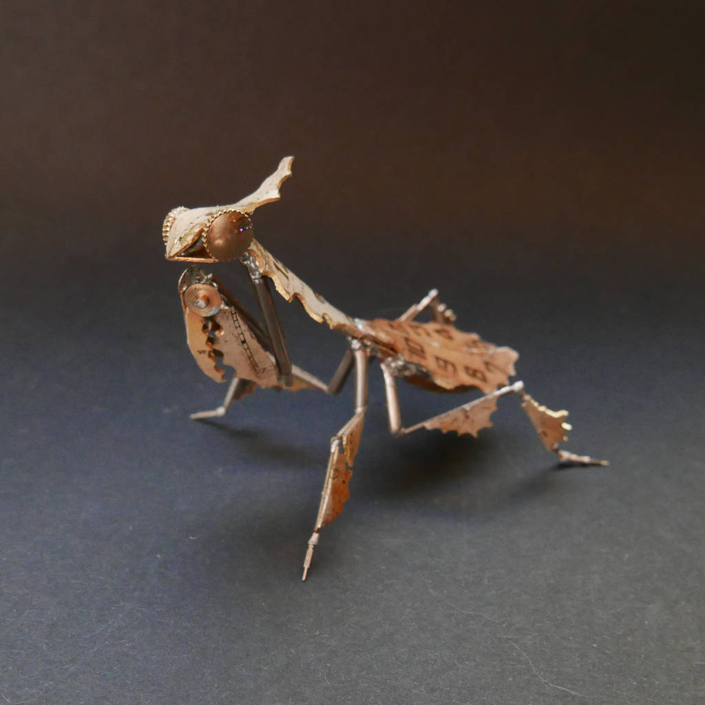 Watch Parts Ghost Mantis (Mantis No 50) by AMechanicalMind