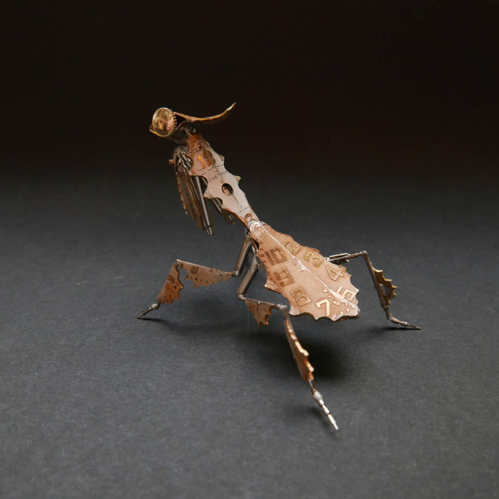 Watch Parts Ghost Mantis (Mantis No 50) II by AMechanicalMind