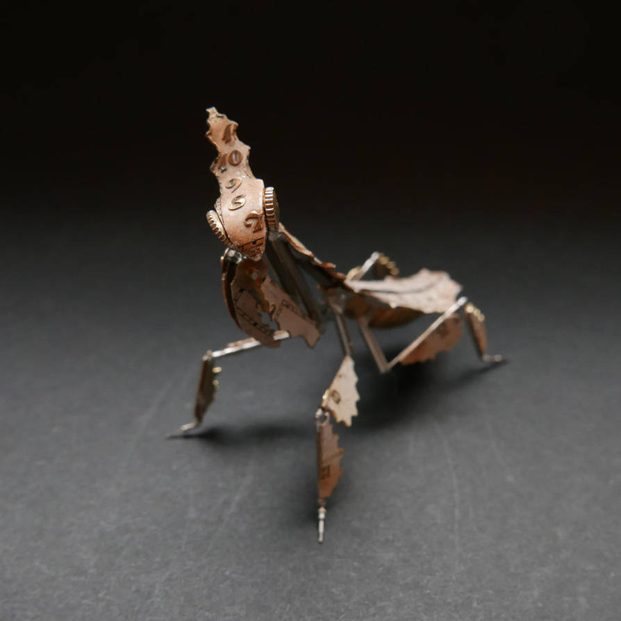Watch Parts Ghost Mantis II (Praying Mantis No 51) by AMechanicalMind