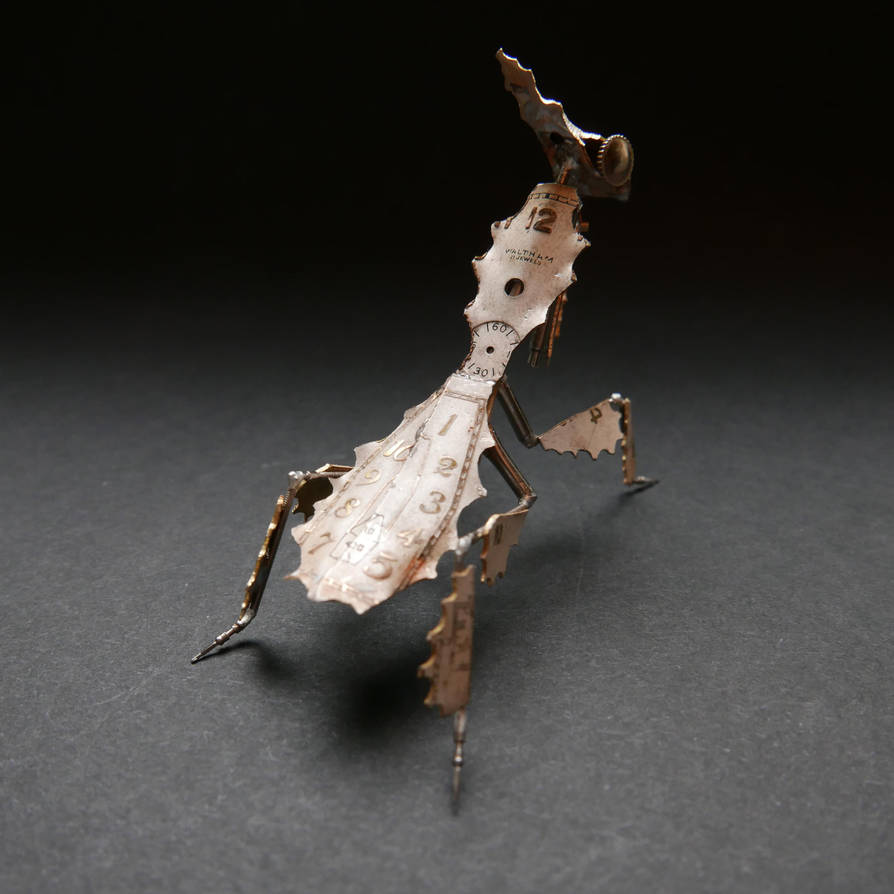 Watch Parts Ghost Mantis II Praying Mantis No 51.b by AMechanicalMind