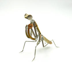Watch Parts Praying Mantis No 52 by AMechanicalMind
