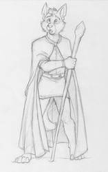 Jacob Sketch by CirrusKitfox