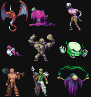 RPG creatures by aamatniekss