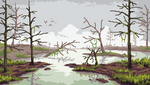 Marsh Landscape - Pixelart by aamatniekss