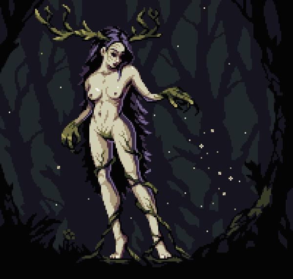 Forest Maiden by aamatniekss