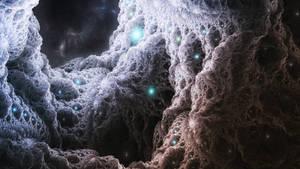 Crystal Asteroid by b33rheart