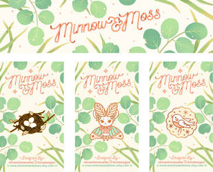 Minnow and Moss Branding by Lumichi