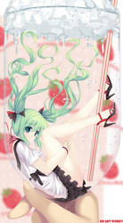 Miku float OvO by caidychen