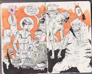 Sketchbook 34 by JakeSmithArt