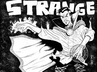 DR STRANGE Commission by JakeSmithArt