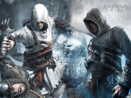 Assassin's Creed Wallpaper by Ange-Ecarlate