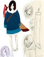 Mina the Snow::Character Sheet by Wishcake