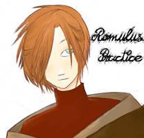 Romulus::Painter Practice by Wishcake