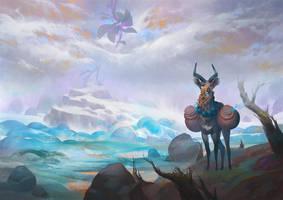 Gazelle by KuteynikovRoman