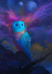 Owl by KuteynikovRoman