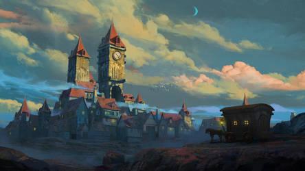 Town by KuteynikovRoman