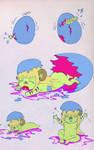 Hatchling Hebiko by Pumpkin-Queen-Ildi
