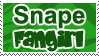 snape fan stamp - lycanlauren by snapefanclub