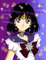 Sailor Saturn by FujinKazeno