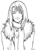 Rinoa linoa final fantasy VIII by FujinKazeno