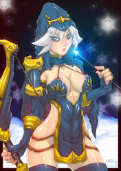 League Of Legends - Ashe by Romehamu