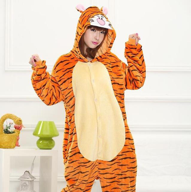 Tiger onesie for adults by kenertj